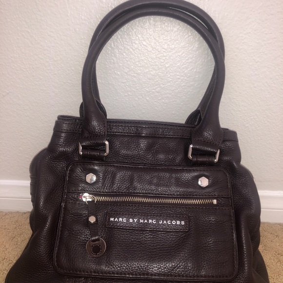 Marc by Marc Jacobs Top Handle leather bag